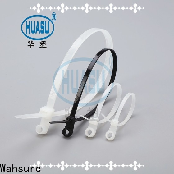 Wahsure cable ties suppliers for wire