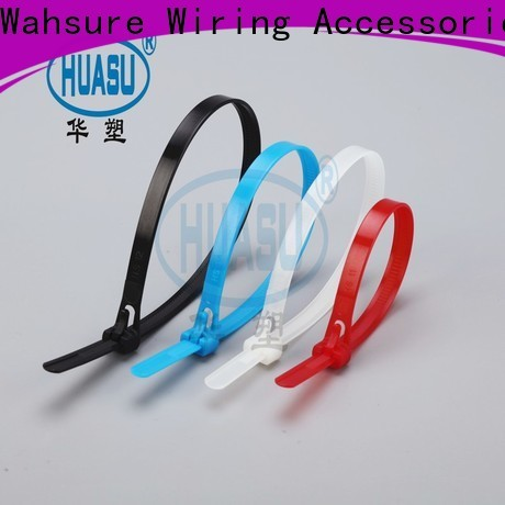 Wahsure cable ties wholesale factory for wire