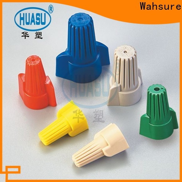 Wahsure wire connectors supply for industry