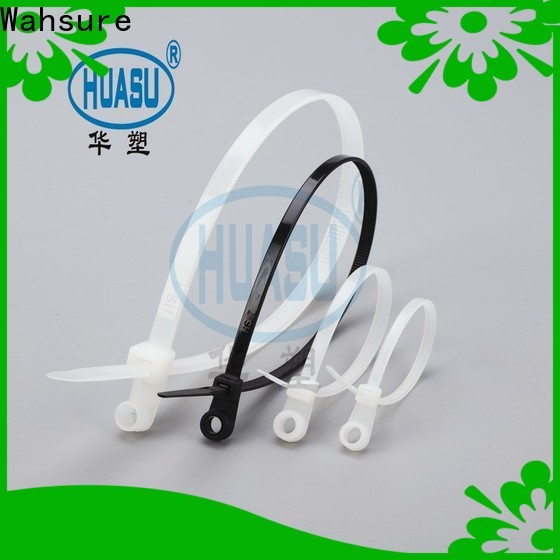 Wahsure high-quality cable ties company for wire