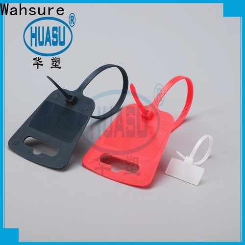 Wahsure auto cheap cable ties factory for industry