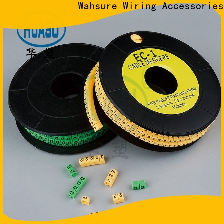 Wahsure electrical cable marker company for sale