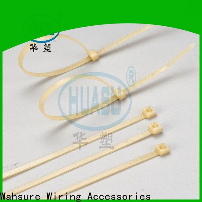 Wahsure clear cable ties suppliers for business