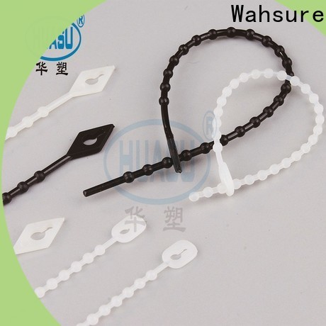 Wahsure latest industrial cable ties suppliers for industry