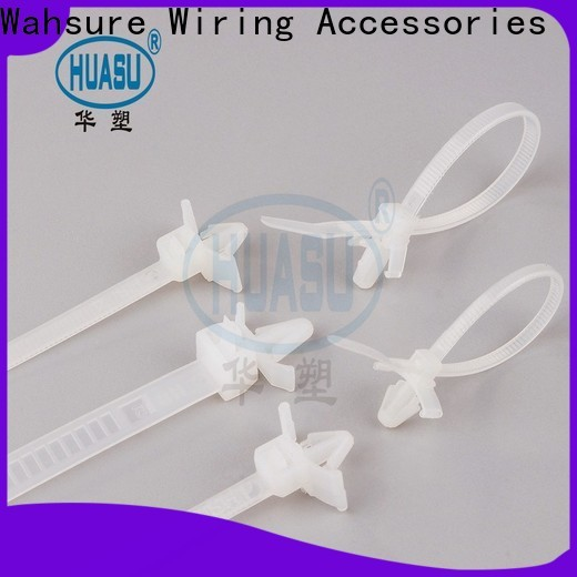 Wahsure cable ties wholesale company for wire