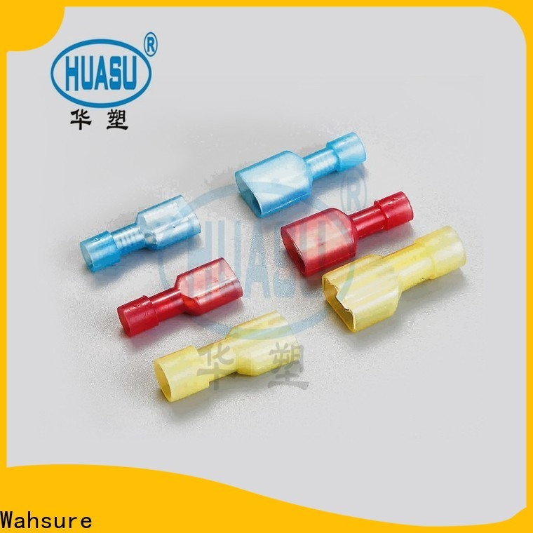Wahsure custom electrical terminals supply for industry
