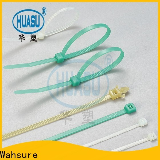 Wahsure cable ties manufacturers for business