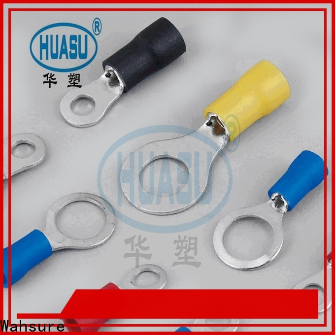 Wahsure durable electrical terminals suppliers for industry