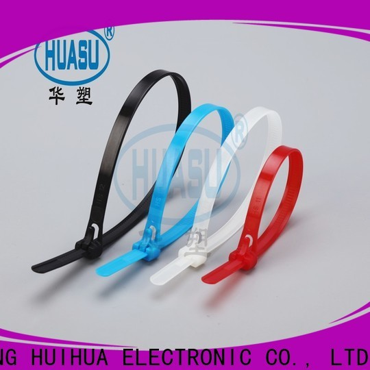 custom cable tie sizes manufacturers for business
