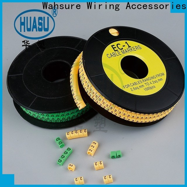 Wahsure electrical cable marker company for business