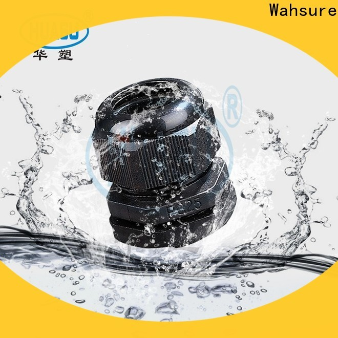 Wahsure custom electrical cable glands company for industry