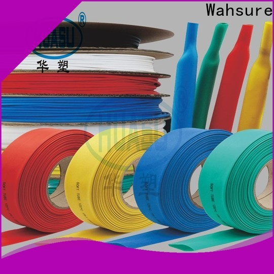Wahsure heat shrinkable tube factory for industry