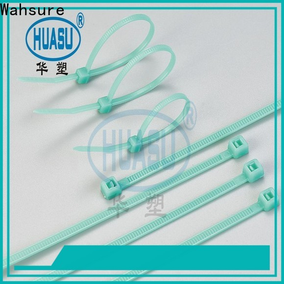 Wahsure new industrial cable ties manufacturers for business