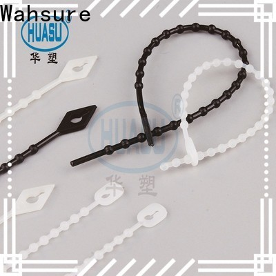 Wahsure auto cable ties company for wire