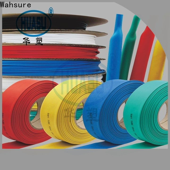Wahsure new heat shrinkable tube suppliers for sale