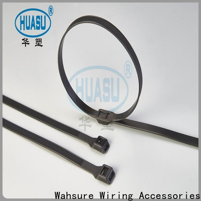 Wahsure clear cable ties suppliers for wire