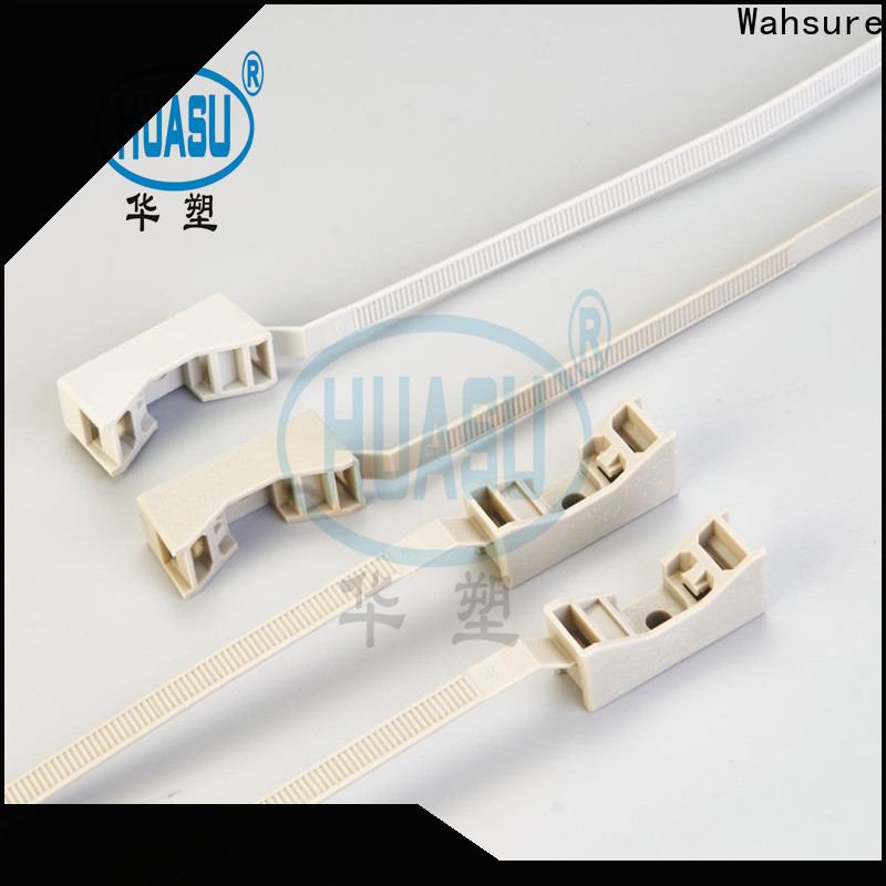 Wahsure cheap cable ties company for wire