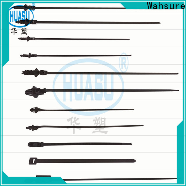 Wahsure best clear cable ties supply for business