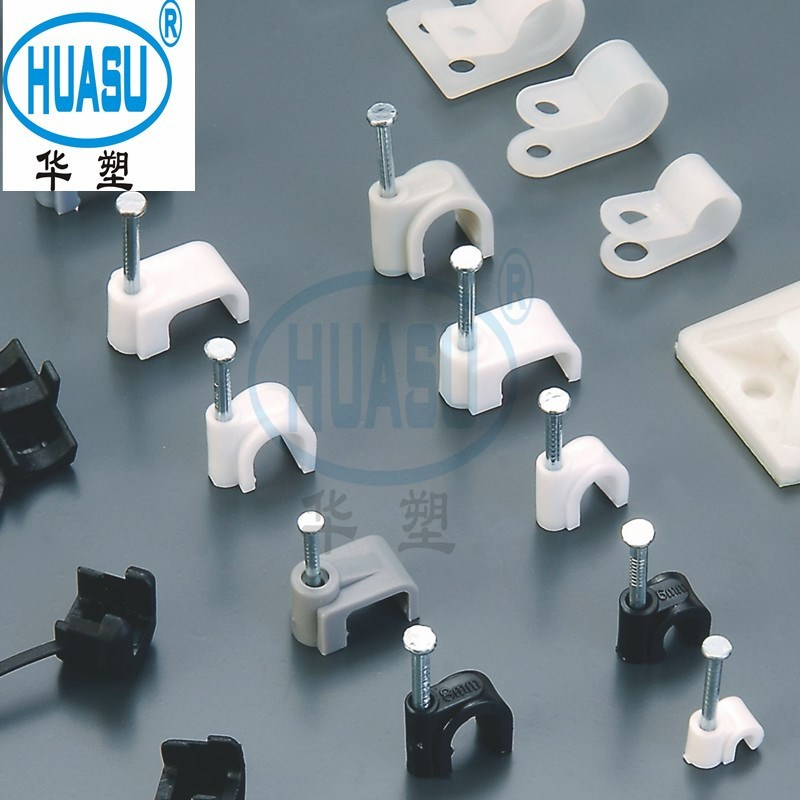 Electrical Circle Nail Cable Clips Supply