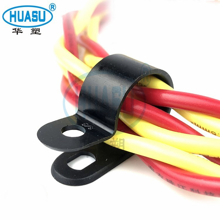 Custom Plastic R Type Cable Clamp Wholesale