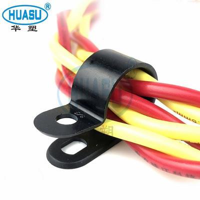 Custom Plastic R Type Cable Clamp Wholesale