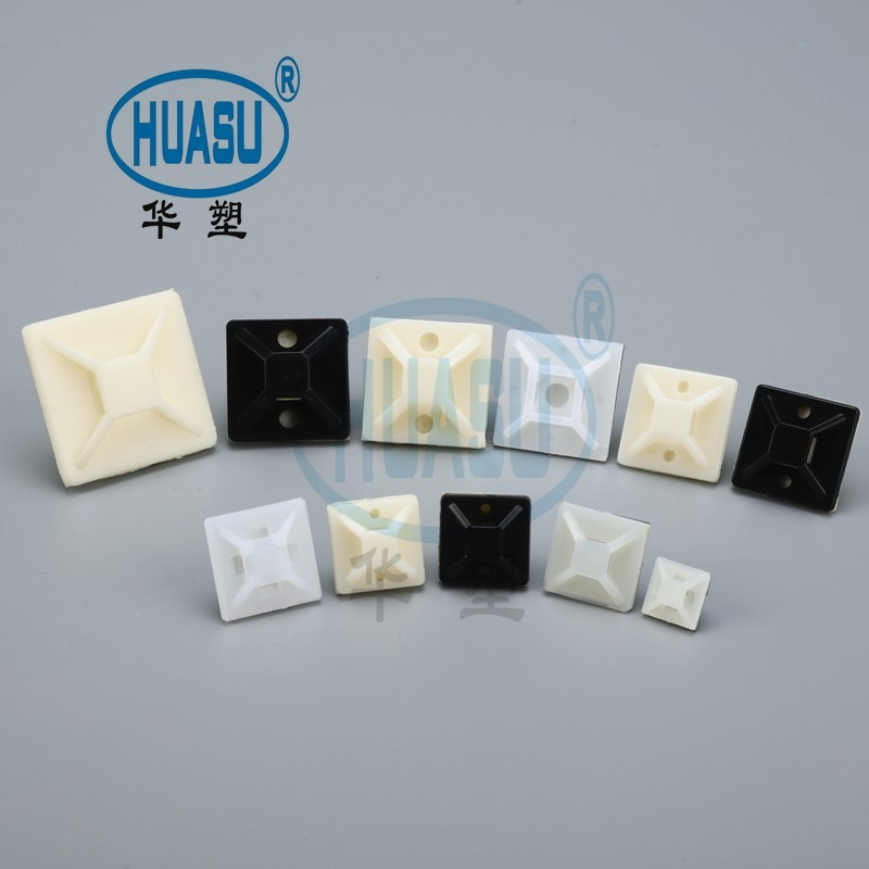 Wholesale Plastic Self Adhesive Cable Tie Mounts Supply