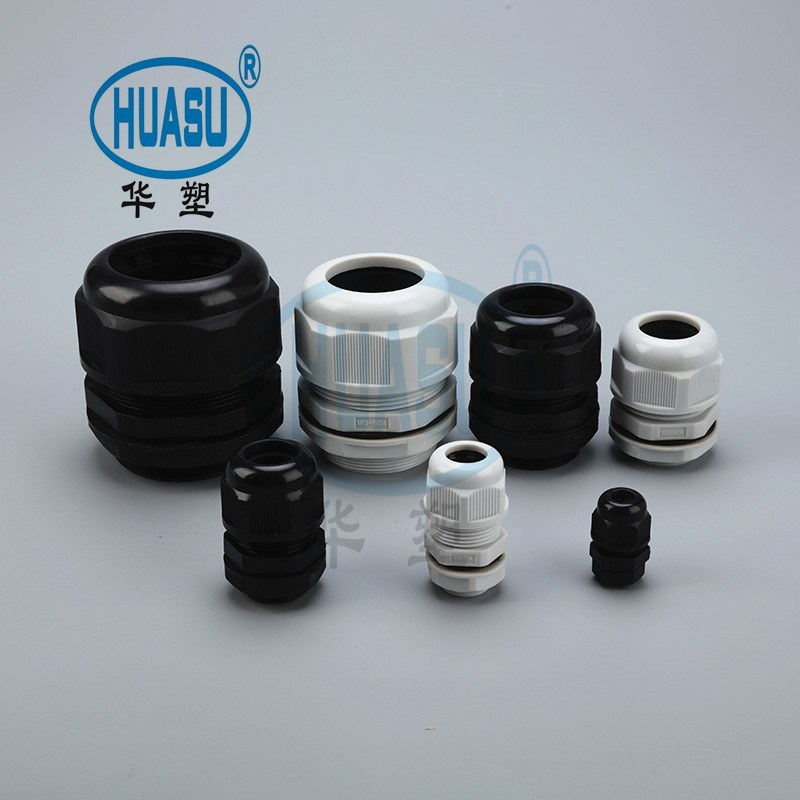 Industrial Metric Thread Plastic Cable Gland Supply
