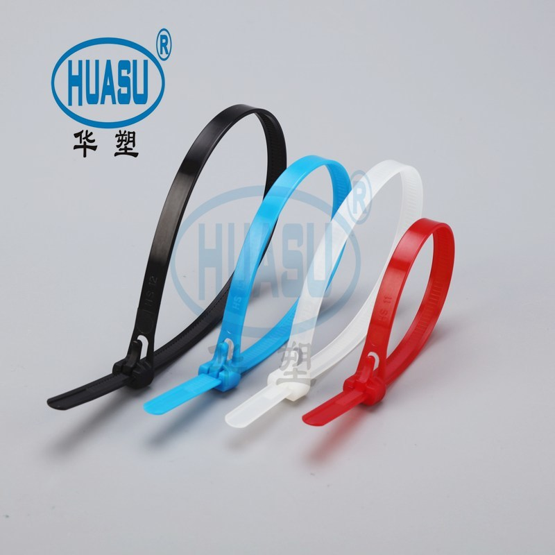 Clear Plastic Releasable Cable Ties Wholesale