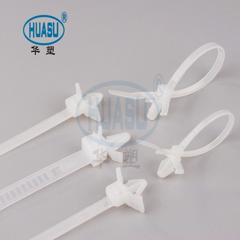 Push Mount Cable Ties Heat-resisting Erosion Control Supply