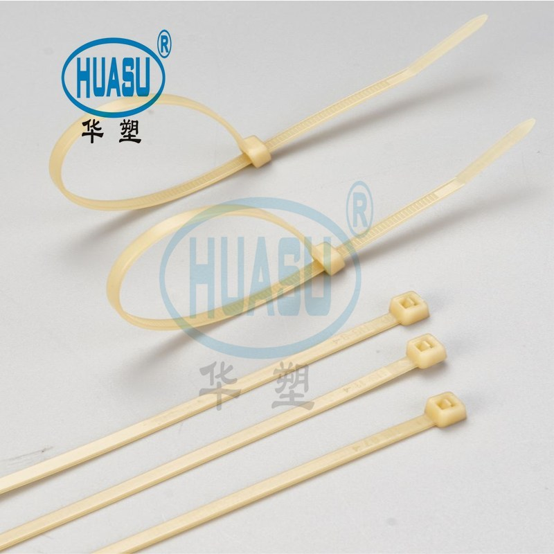 PA46 Extra Heat Stabilized Cable Ties Manufacture