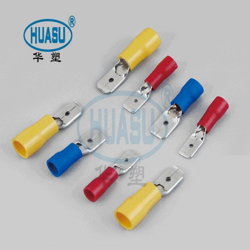 Pre-insulated Male Terminals Connectors Nylon 66 Wholesale
