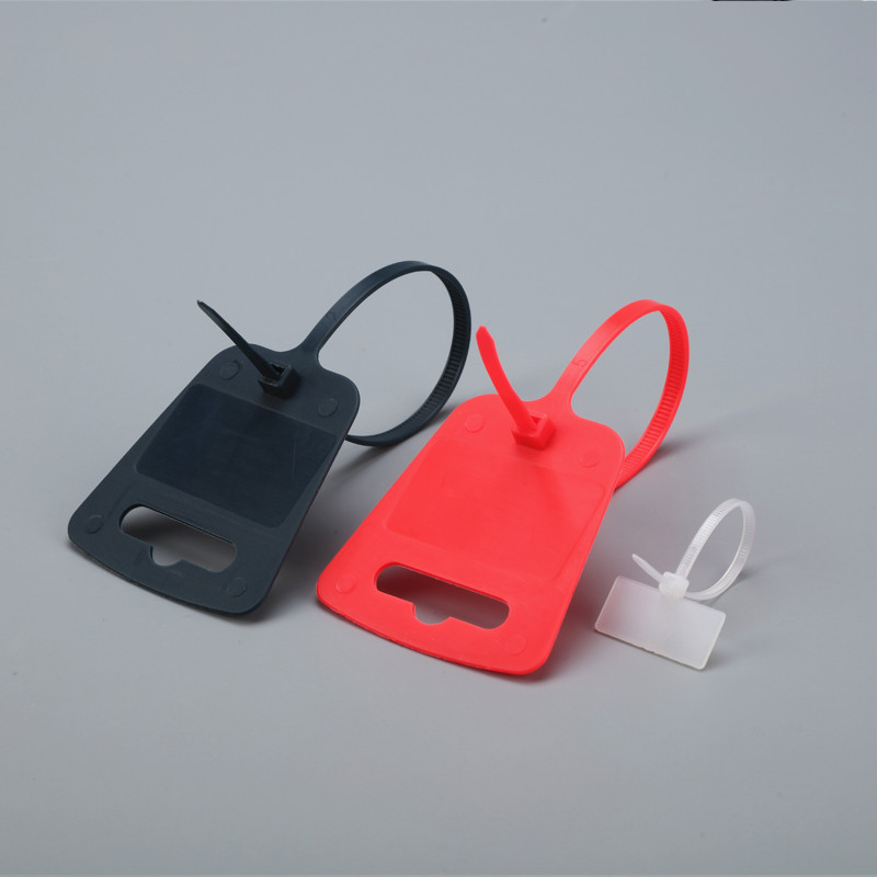 Clear Marker Cable Tie With Label Tag Supply