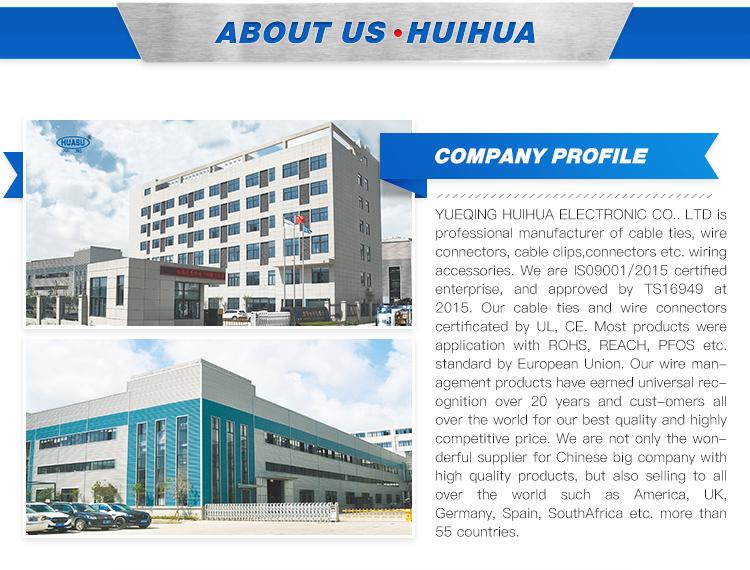 Huihua Unique Manufacturing Process Special Function Plastic Nylon Cable Tie