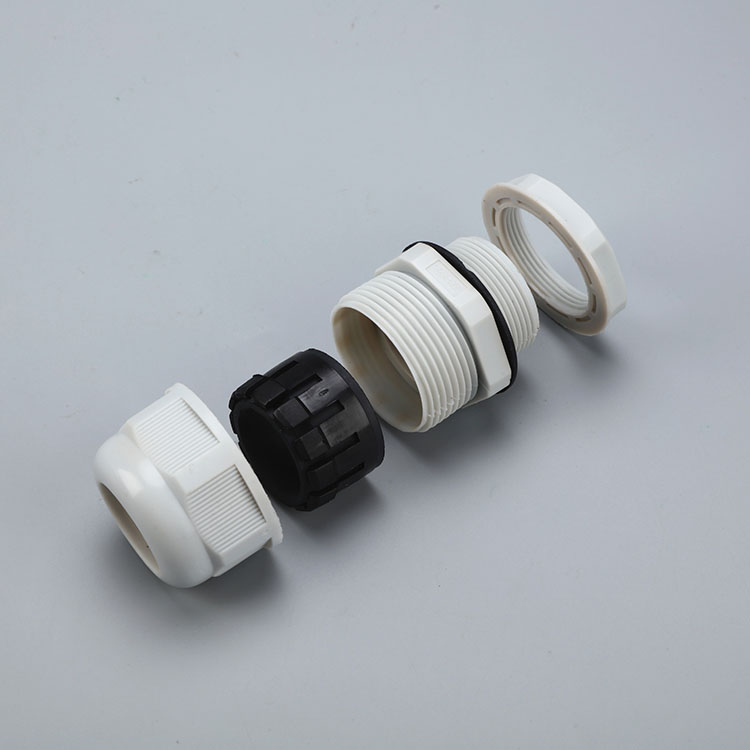 Plastic Nylon Metric Thread Cable Gland